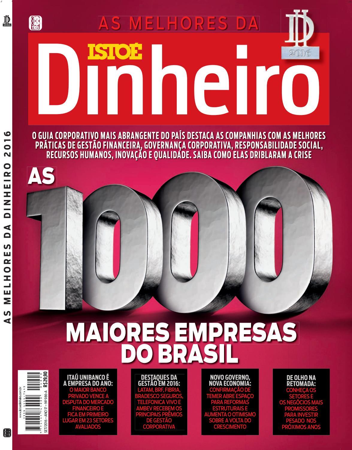 Melhores Dinheiro 2016 by Editora 3 - issuu 02a481ec78