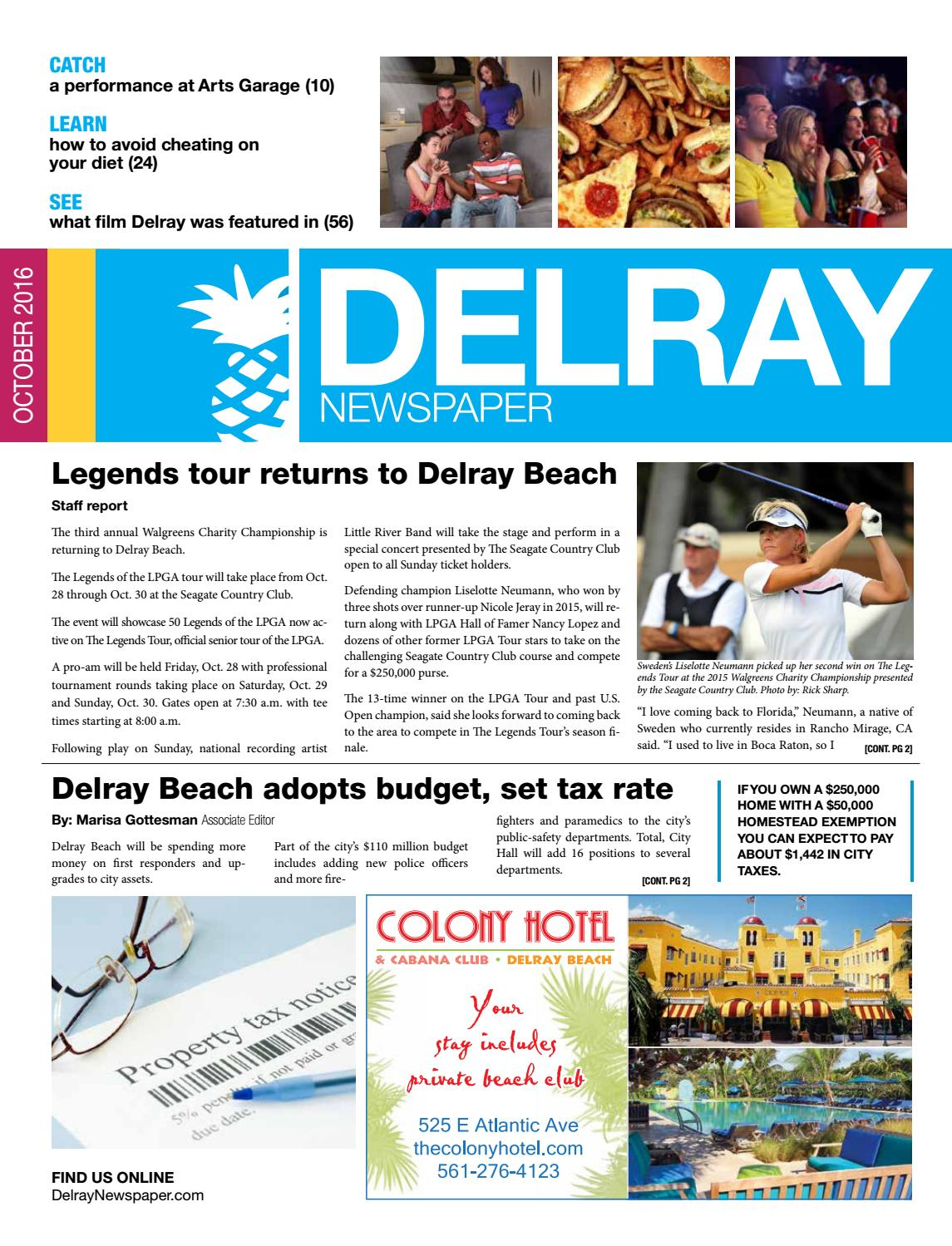 Delray newspaper october 2016 by four story media group issuu malvernweather Images