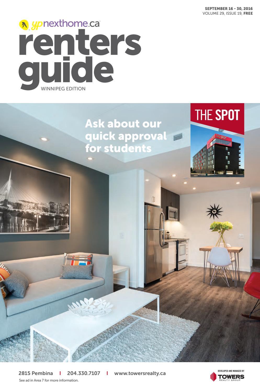 WINNIPEG Renters Guide - 16 Sep, 2016 by NextHome - issuu