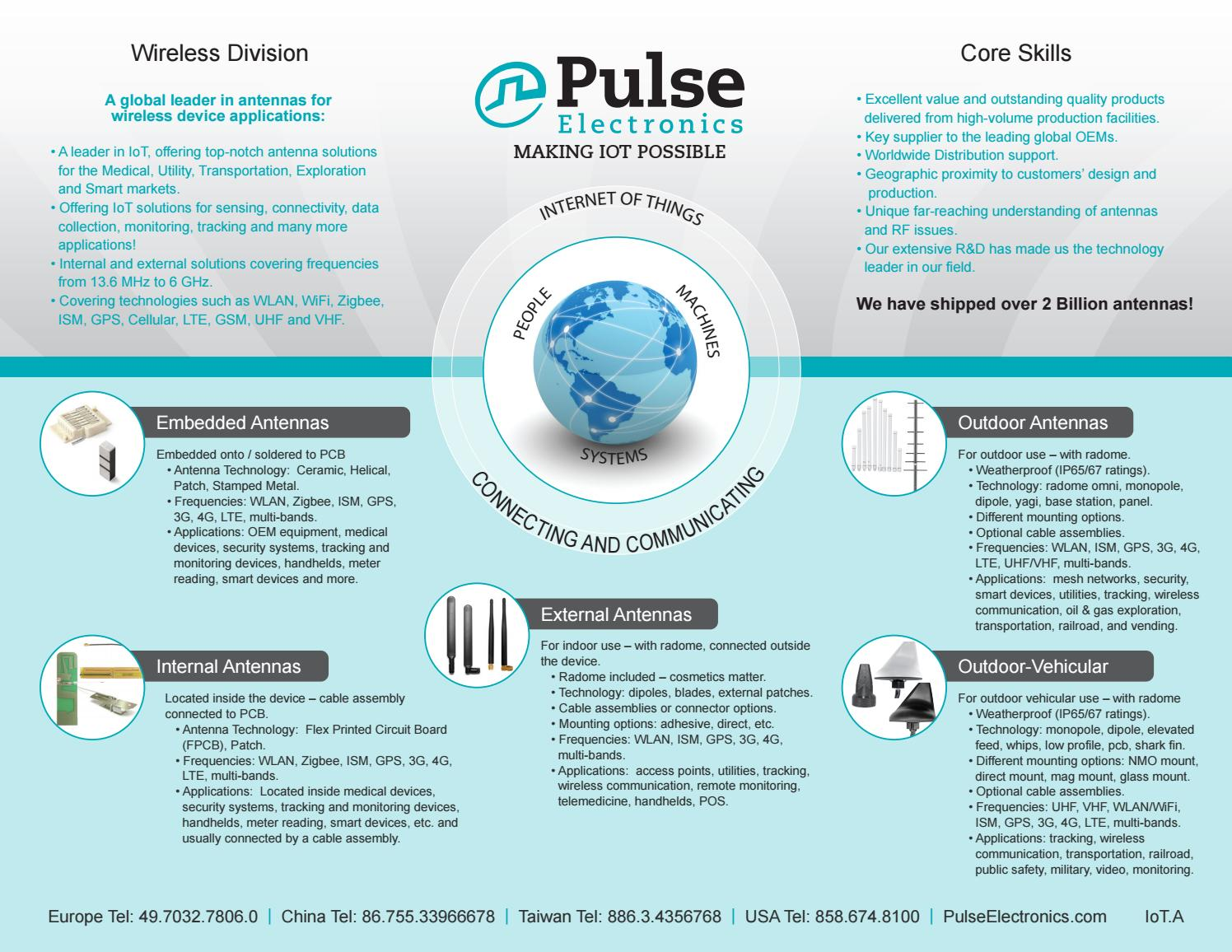 Making IoT Possible by Pulse Electronics - issuu