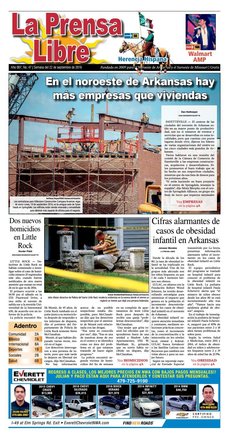 Edición de La Prensa Libre Jueves 22 de Septiembre 2016 by La Prensa ...