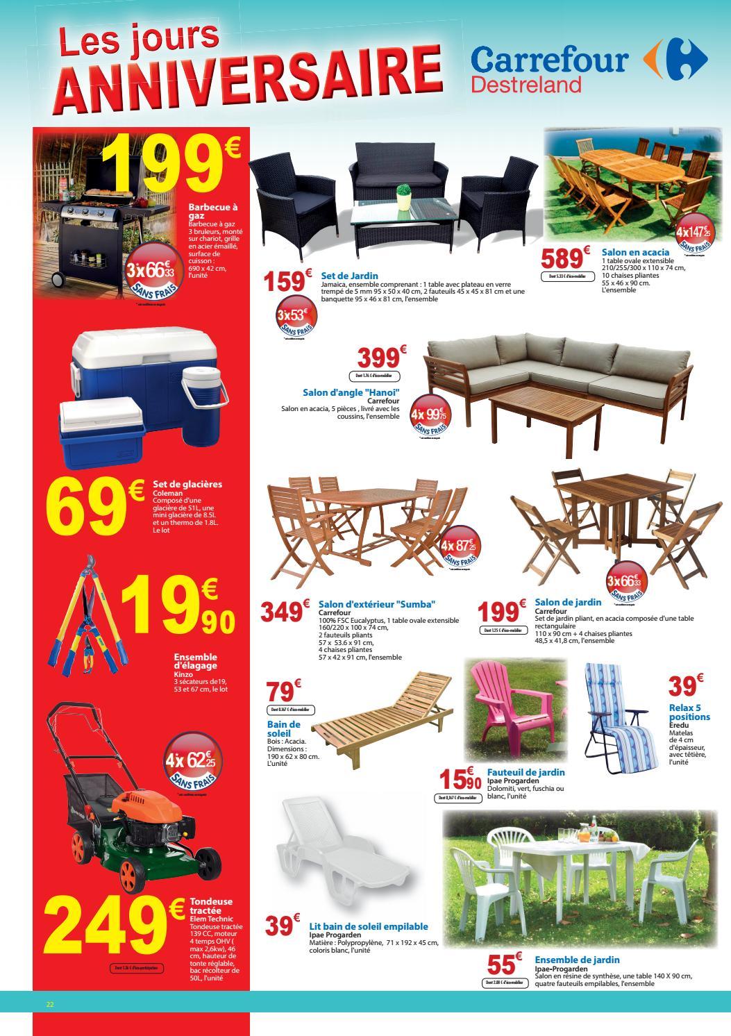Carrefour Destreland : Les jours ANNIVERSAIRE (du 27 ...