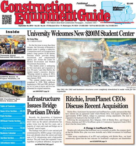 a4b87b41e30855 Midwest 20 2016 by Construction Equipment Guide - issuu