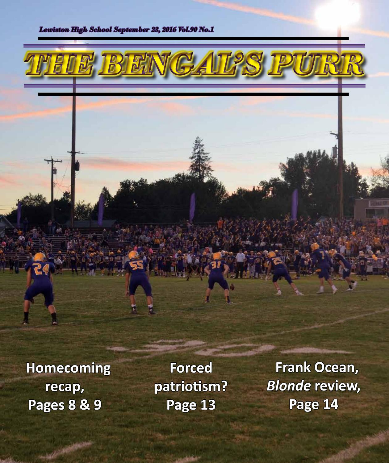 foto de Sept. 23, 2016 Bengal's Purr Homecoming Review by The Bengal's ...
