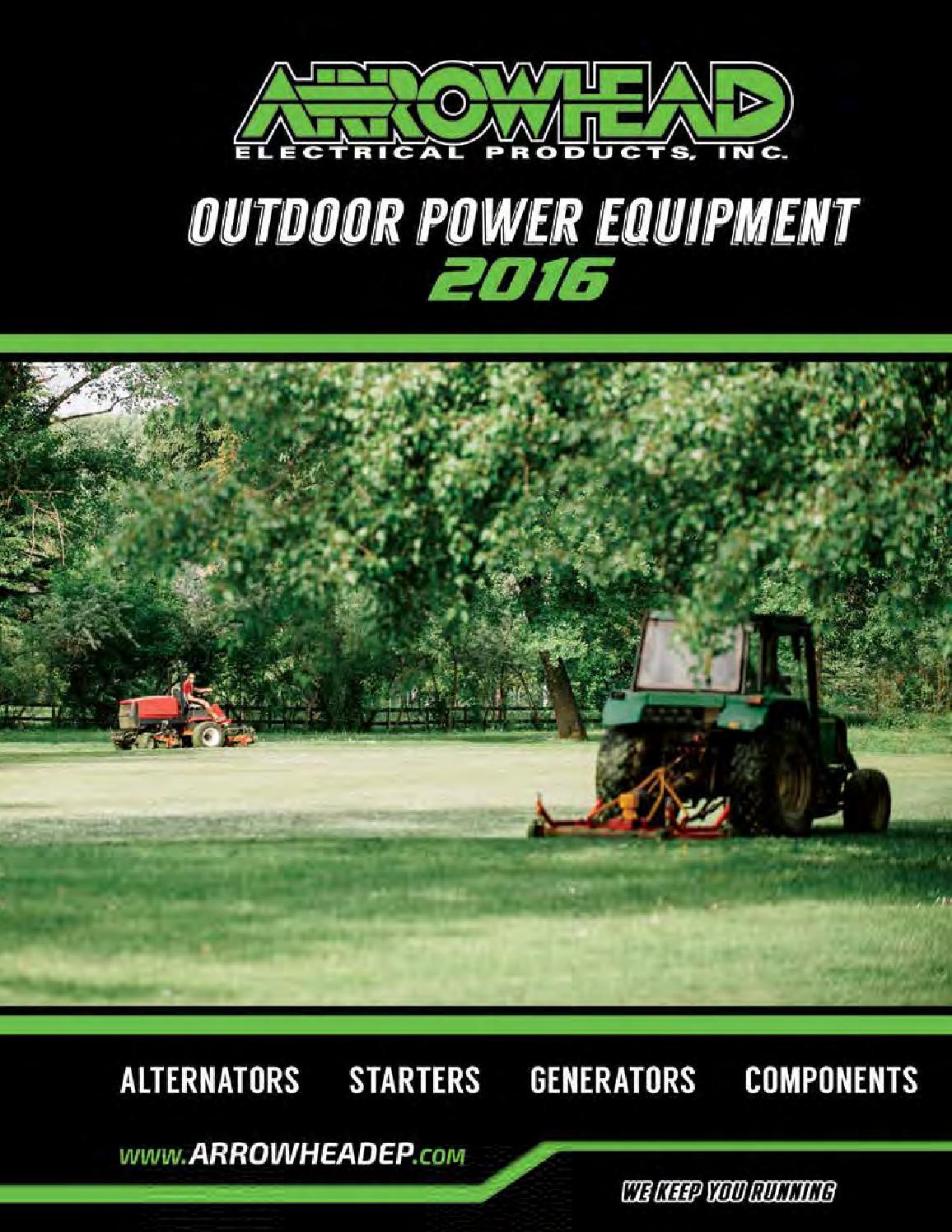 Catalog-Outdoor Power Equipment 2016 by Arrowhead Electrical