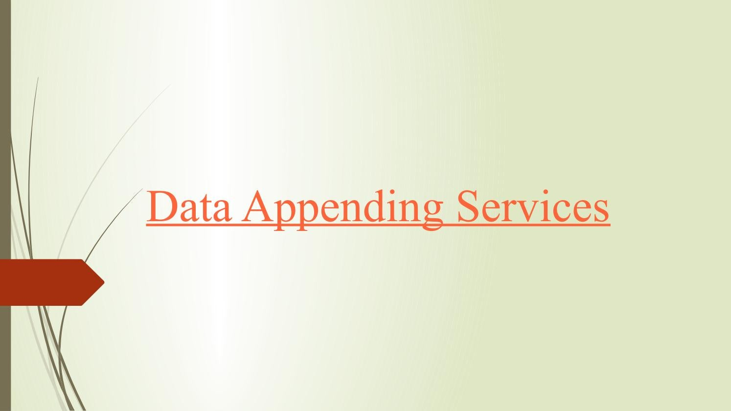 Data appending services by Infodataplace - issuu