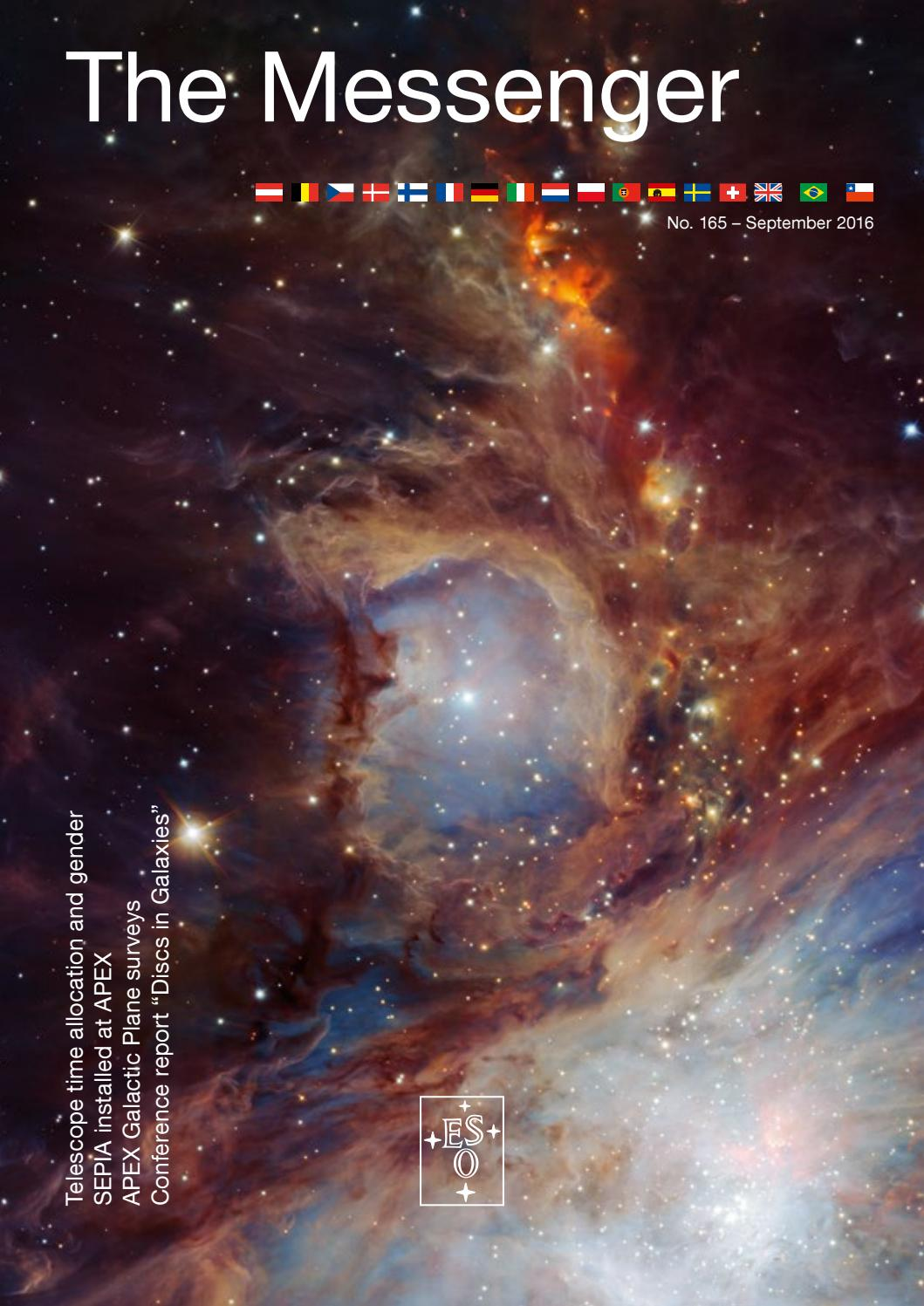 The Messenger 165 by European Southern Observatory - issuu