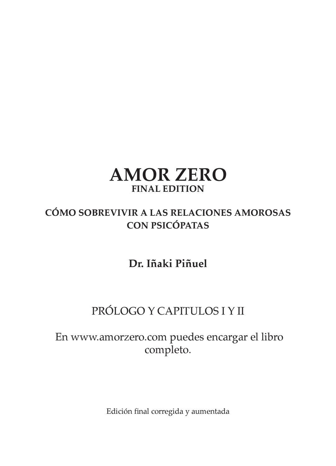 Amor Zero (Resumen) by AmorZero - issuu