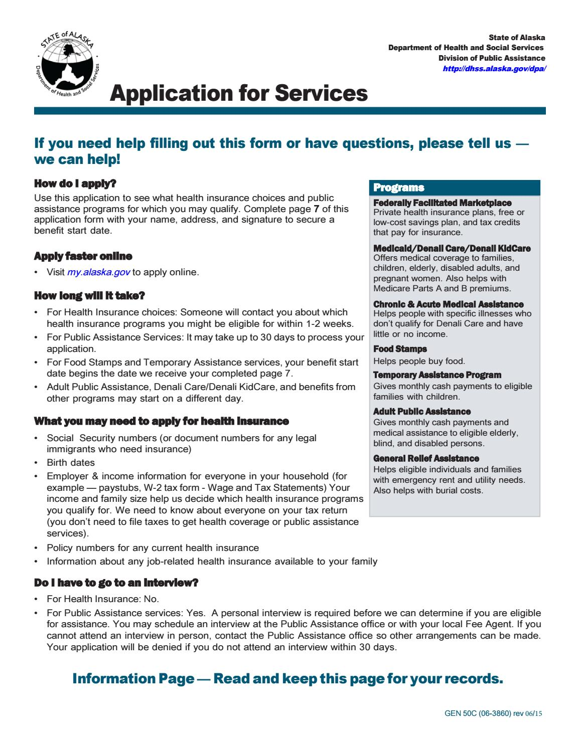 How to Apply for Public Assistance foto