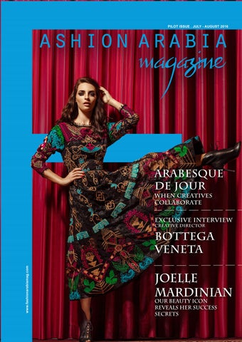 0d45c7601f Fashion Arabia Magazine - July August 2016 by Fashion Arabia ...