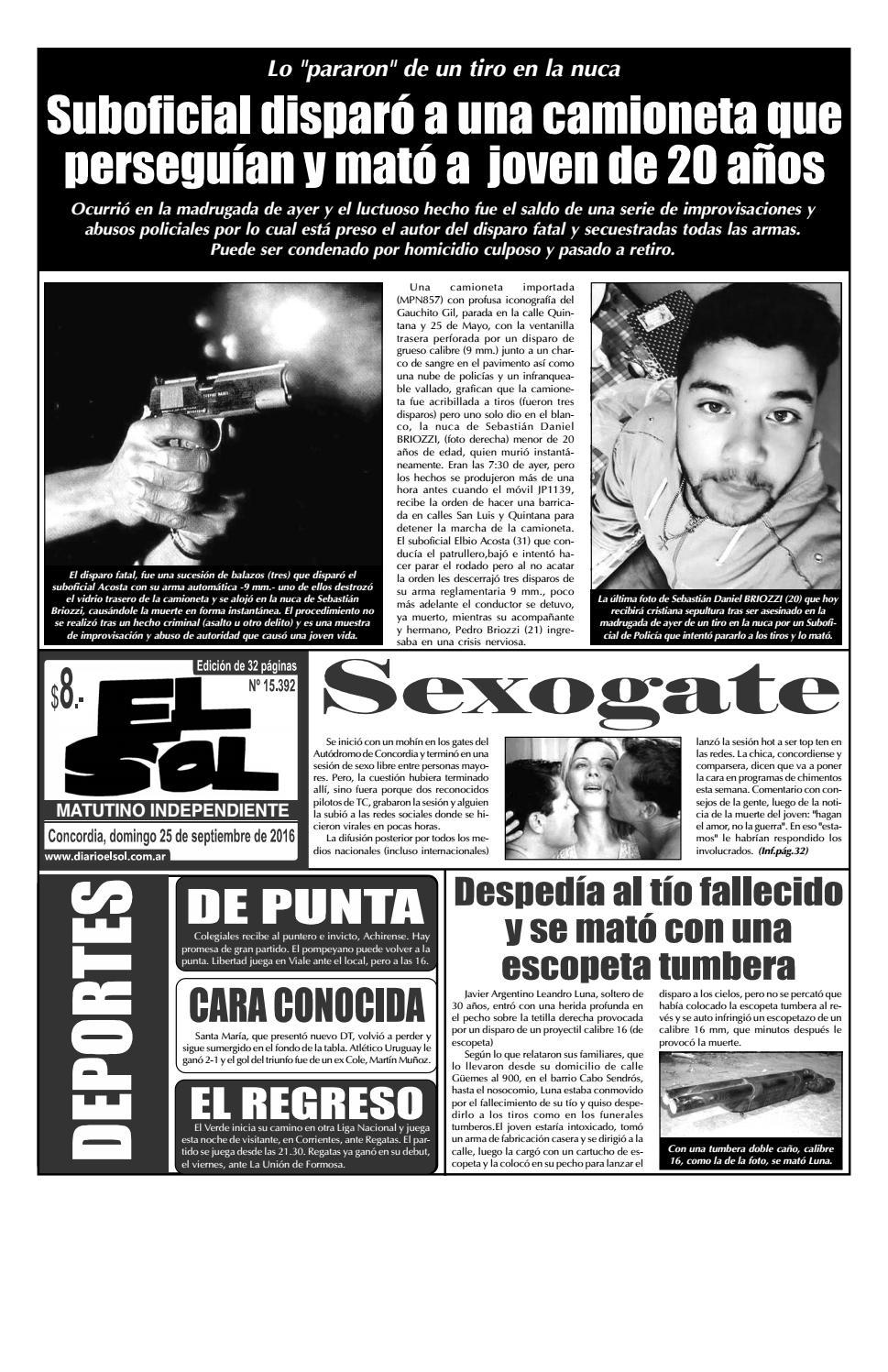 Diario El Sol (Domingo 25 septiembre 2016) by Diario El Sol - issuu