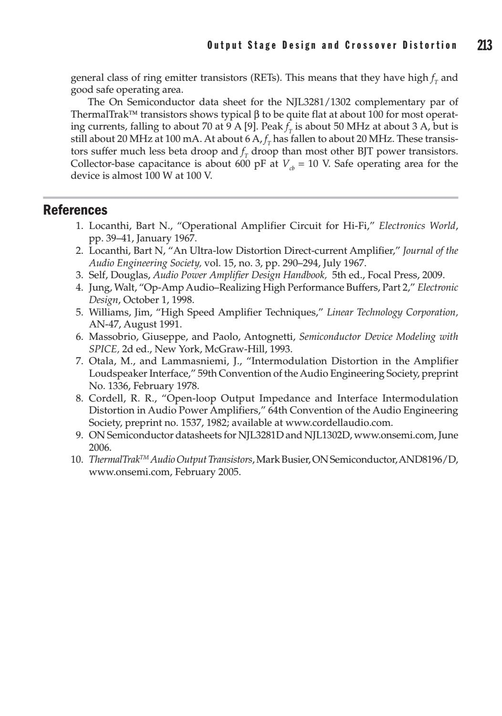 NJL3281D Complementary ThermalTrak Transistors NJL3281 NEW