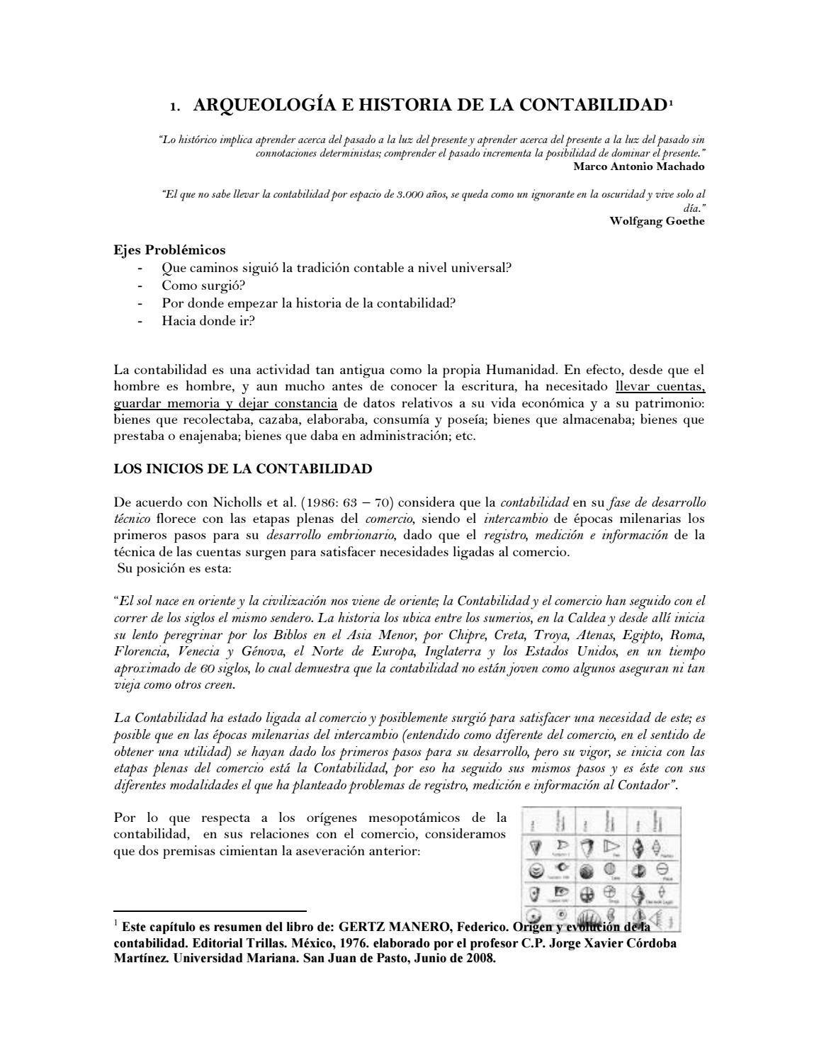 Historia de la contabilidad by Johan Jurado - issuu