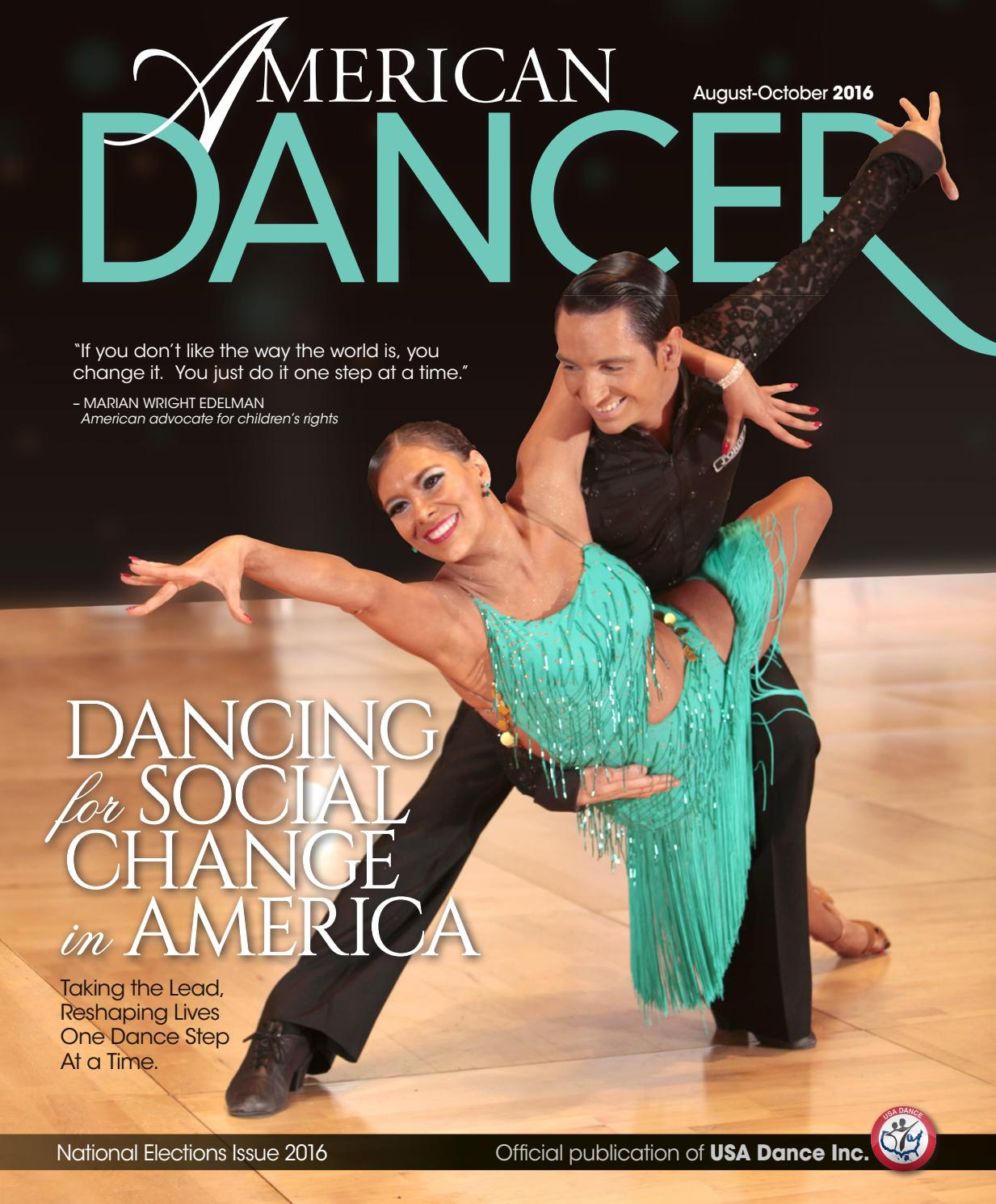 American Dancer Magazine August October 2016 Issue By Sound Source Locator Uses Prechamp Issuu