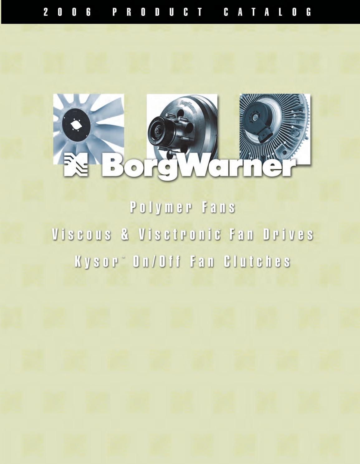 Borg Warner by Santiago Donis - issuu