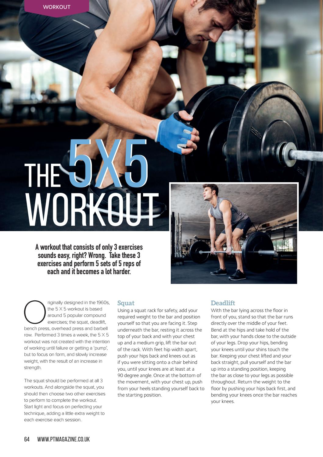 Personal Trainer Magazine Sept 2016 by PT Live - issuu