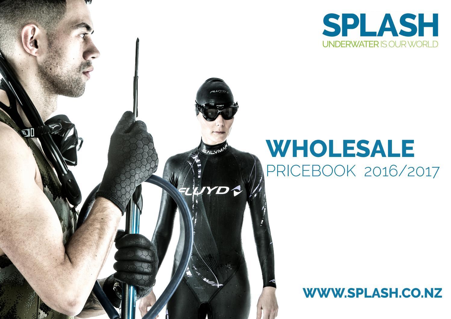 20m 60ft Finger Spool Orange Reel Scuba Diving Brass Snap Bolt