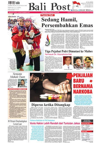 Edisi 25 September 2016 Balipost Com By E Paper Kmb Issuu
