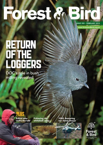 1a4e87481 Forest   Bird Magazine 355 Feb 2015 by Forest   Bird - issuu