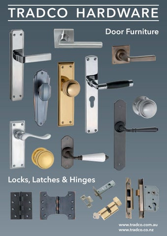 Tradco Door Furniture Brochure