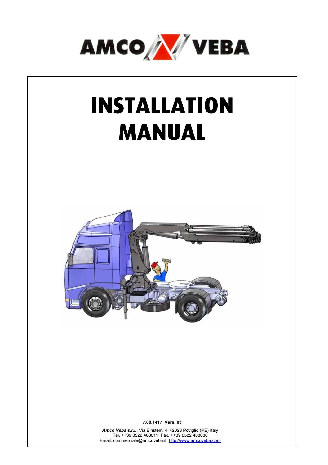 truck crane installation manual by ahmadfikry work - issuu  issuu