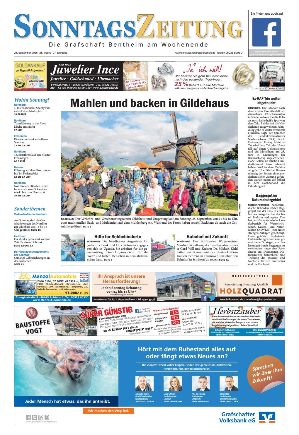 SonntagsZeitung_25-09-2016 by SonntagsZeitung - issuu