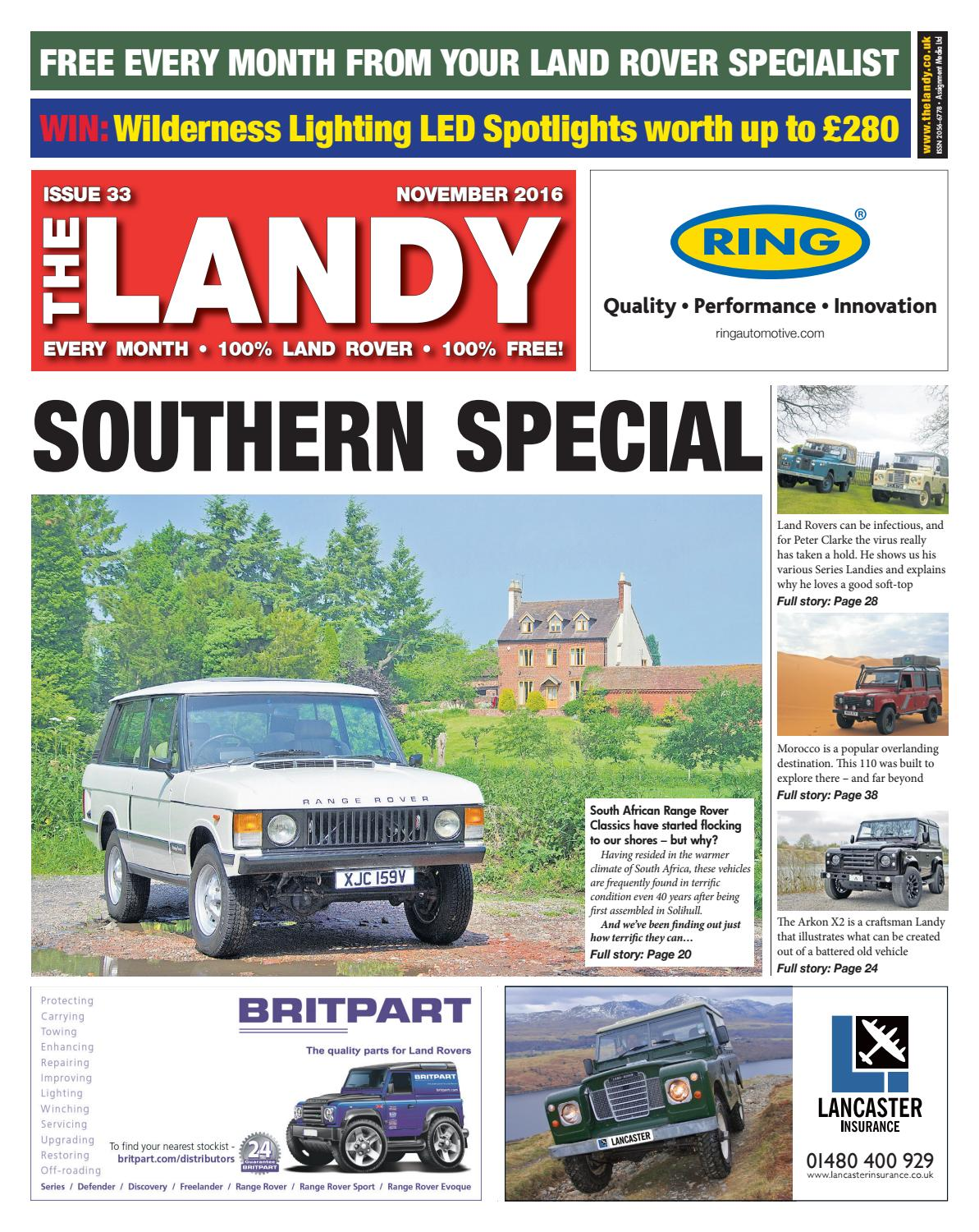 The Landy November 2016 By Assignment Media Ltd Issuu Evoucer Mcdonald 40000