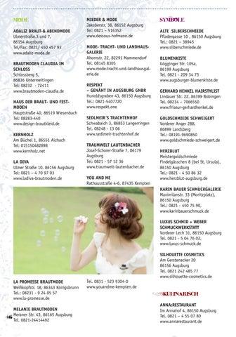 Hochzeit Guide Augsburg 2016 By Neue Szene Augsburg Issuu