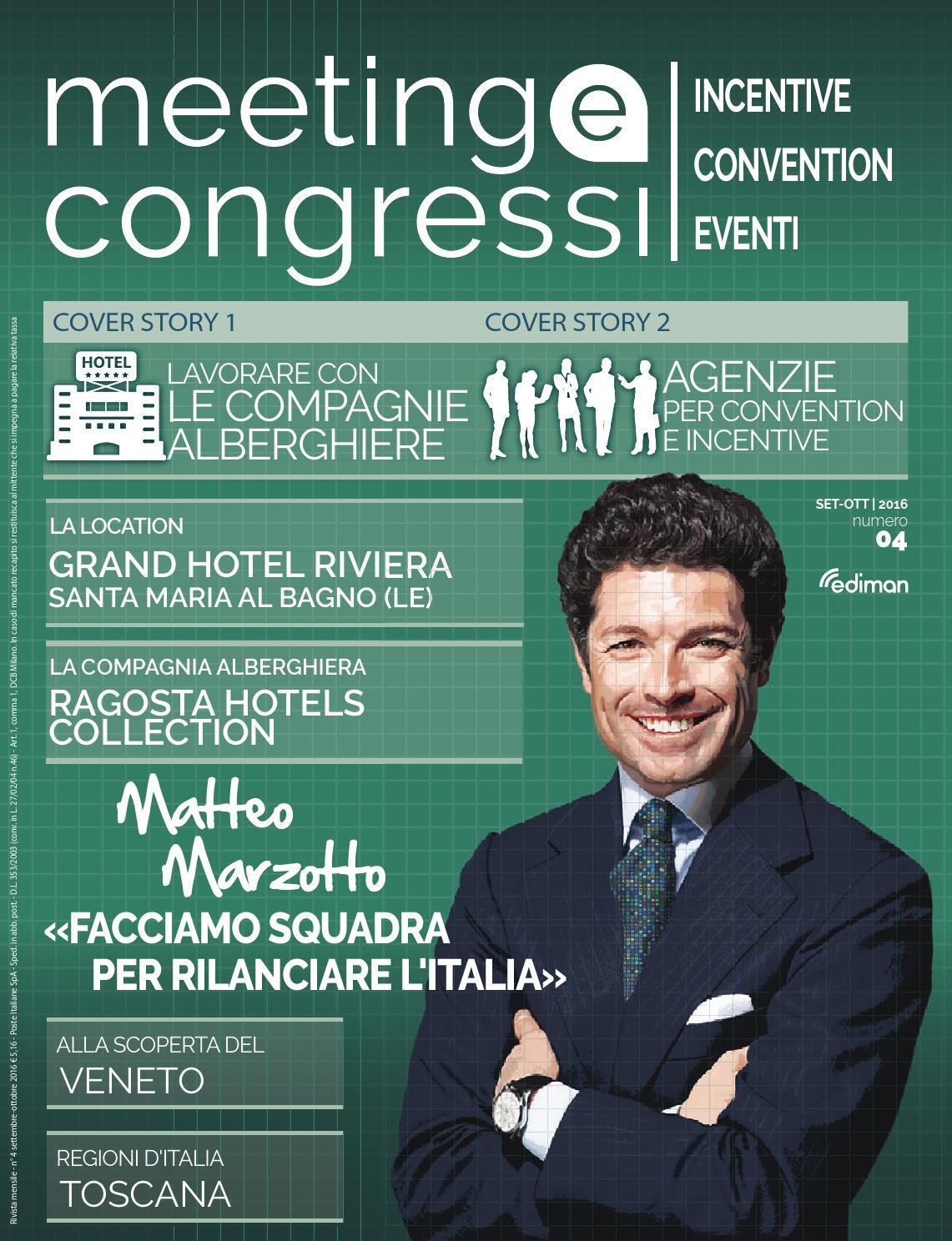 Meeting e Congressi - Set Ott 2016 by Ediman - issuu 49b68aab5b01