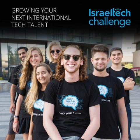 Meet israel tech challenge by Israel Tech Challenge - issuu