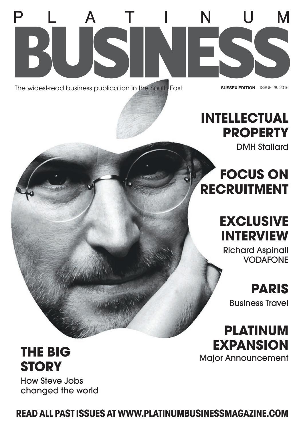 1039451f8da26 PLATINUM BUSINESS MAGAZINE - ISSUE 28 - SUSSEX EDITION by Platinum Business  - issuu