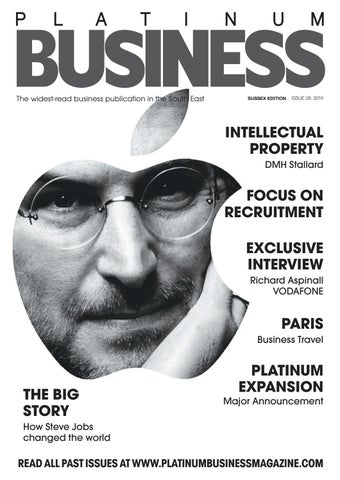 88647252eb4 PLATINUM BUSINESS MAGAZINE - ISSUE 28 - SUSSEX EDITION by Platinum ...