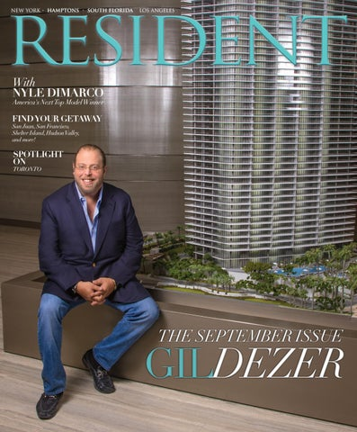 Resident Magazine September 2016 Issue South Florida Edition By