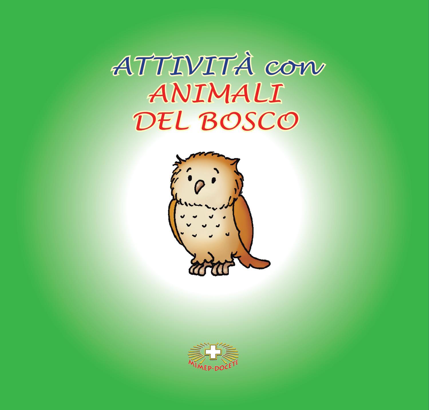 Attività Con Animali Del Bosco By Mimep Docete Issuu