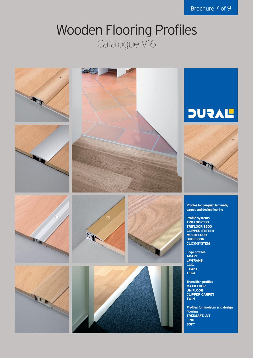 Wooden flooring profiles catalogue v16 by ctc issuu for Floor profile