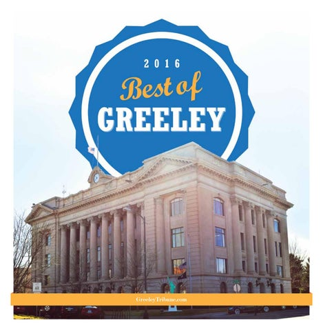 Best of greeley 2016 by the greeley publishing company issuu page 1 solutioingenieria Choice Image