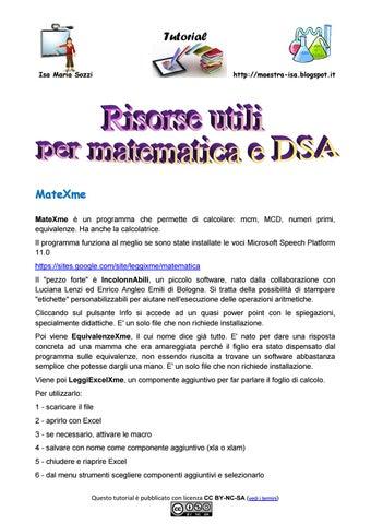 Risorse Matematica By Maestra Isa Issuu