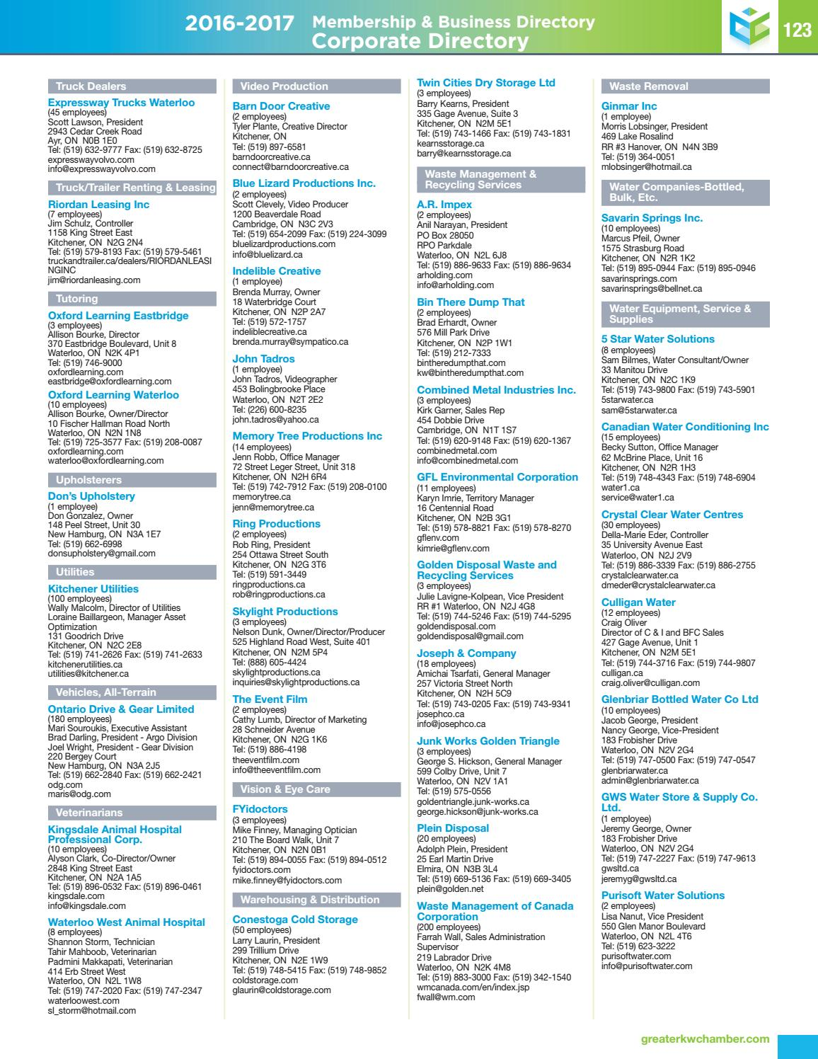 2016 - 2017 Membership & Business Directory by Natalie Hemmerich - issuu