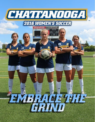 2016 Chattanooga Soccer By Chattanooga Athletics Issuu
