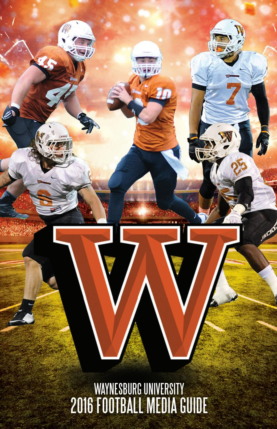 2016 Waynesburg Football Guide By Waynesburg University