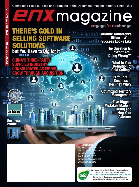 ENX Magazine October 2016 Issue by ENX Magazine - issuu