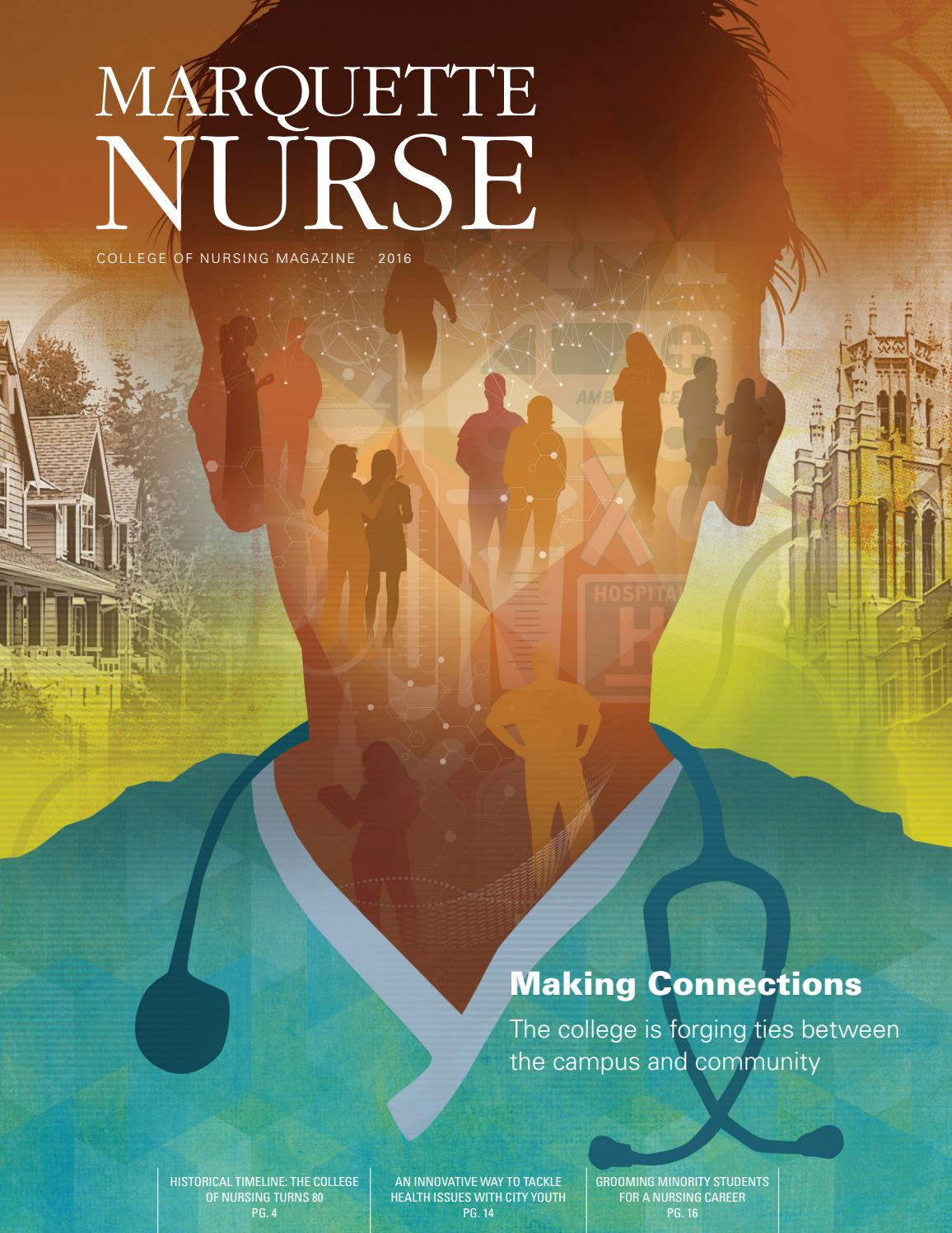 Marquette Nurse 2016 by Marquette University - issuu