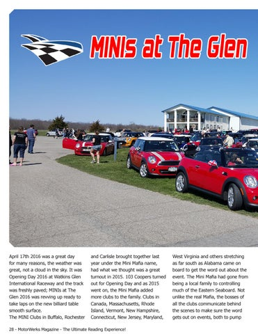 Page 28 of MINIs at the Glen