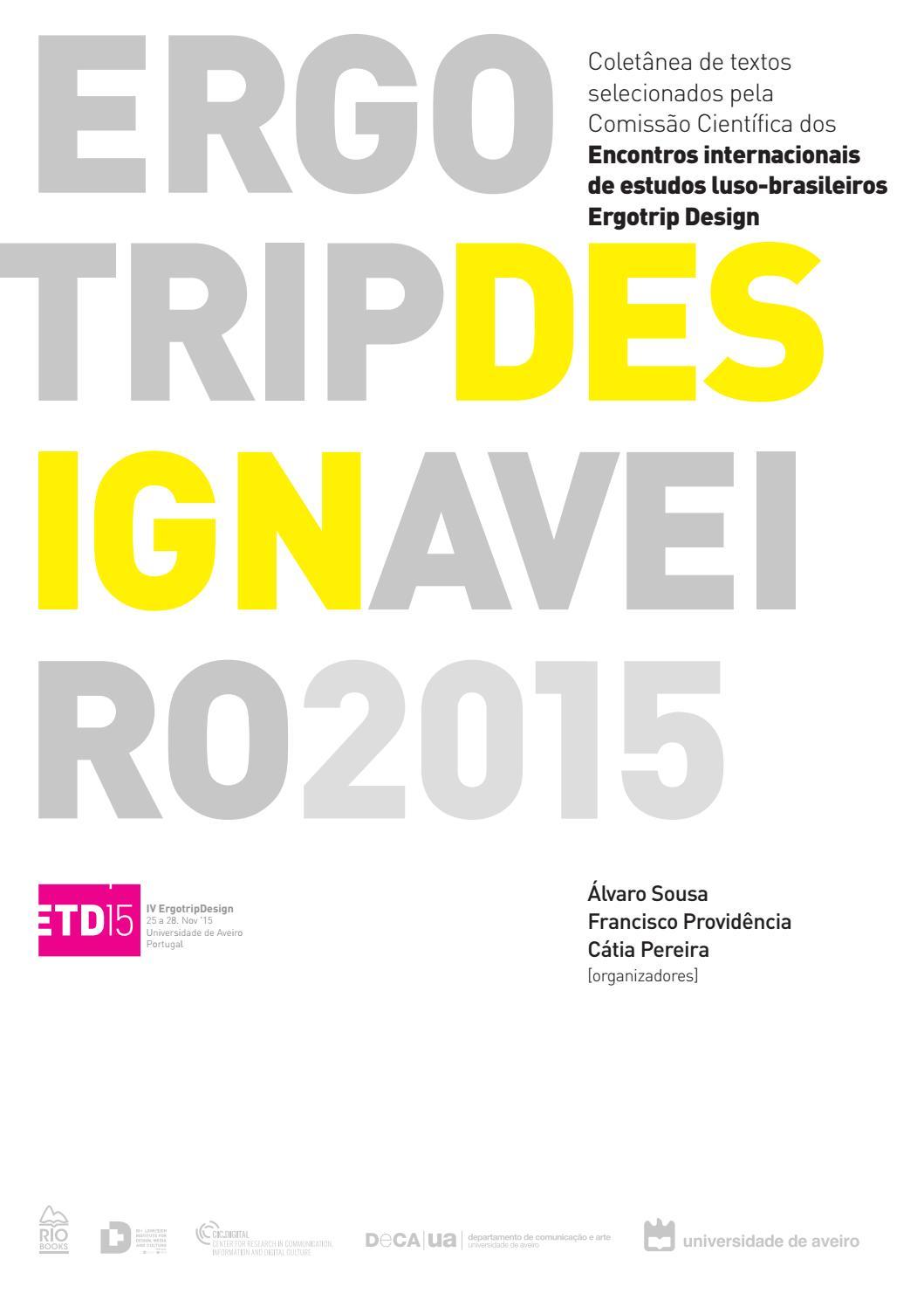 a690f7aacac29 Livro de artigos ergotrip 2015 by Ergotrip Design - issuu