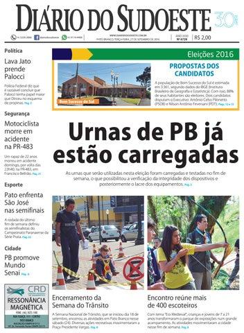 Diário do sudoeste 27 de setembro de 2016 ed 6728 by Diário do ... 13e81081cc266