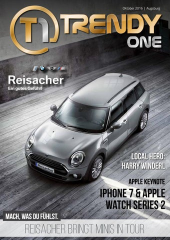 Trendyone Das Magazin Augsburg Oktober 2016 By Ad Can Do Gmbh