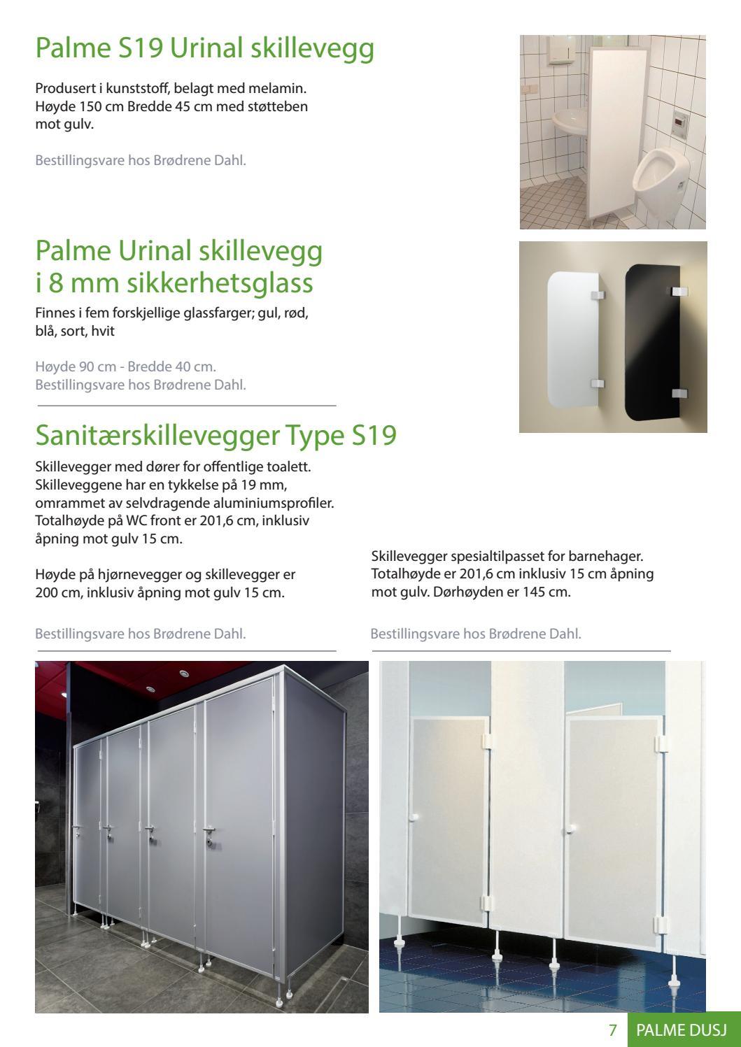 2c8581bd Palme dusjløsninger by Brødrene Dahl - issuu
