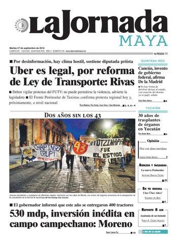 La Jornada Maya · martes 27 de septiembre 861585b7ea0
