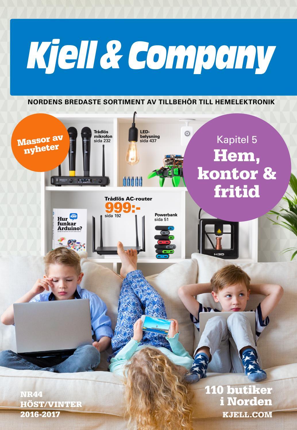 Kjell   Company Katalog 44 Sverige - Kapitel 5  Hem 61dac13b938c4