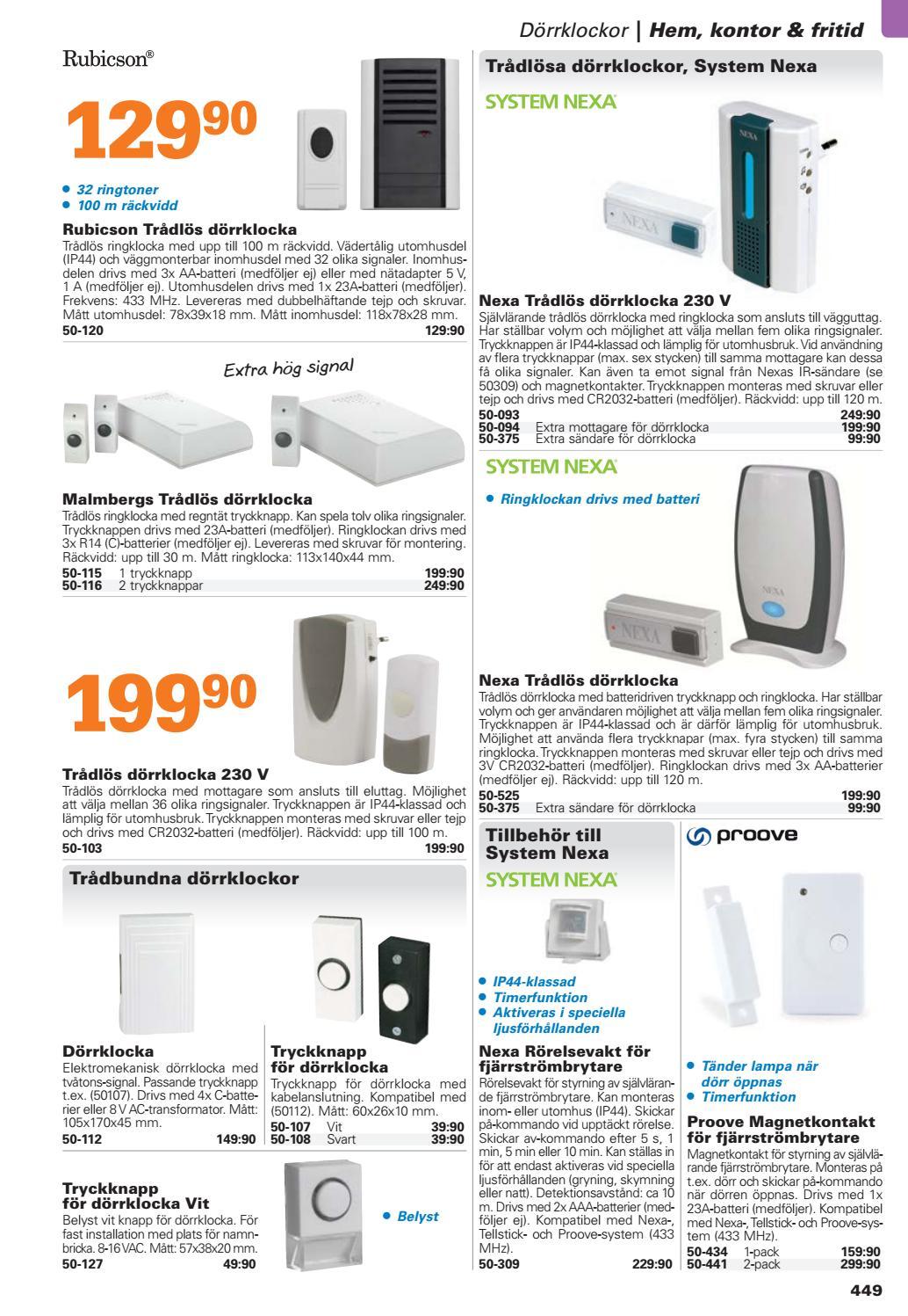 Kjell & Company Katalog 44 Sverige - Kapitel 5: Hem, kontor och ...